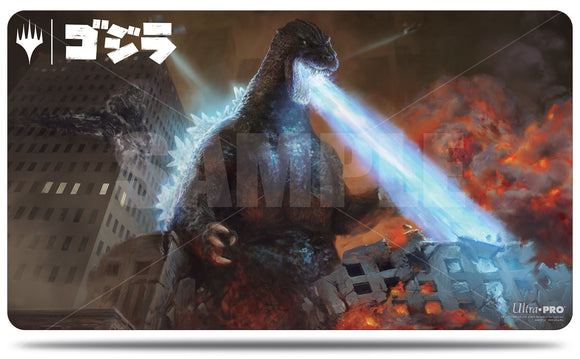 Magic: The Gathering Ikoria Playmat: Godzilla, Doom Inevitable