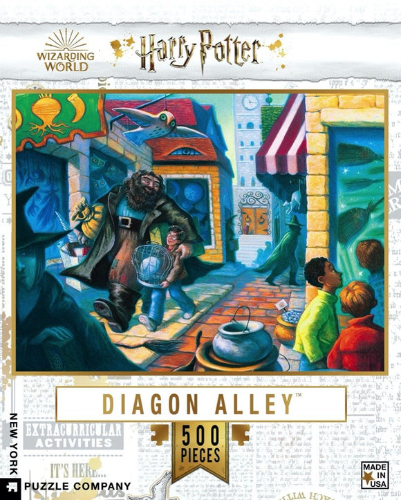 Harry Potter - Diagon Alley (500 pc puzzle)