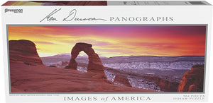 Images of America Panoramic Puzzle - Delicate Arch
