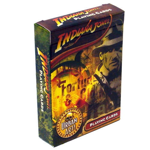 Indiana Jones Urban Art Playing Cards