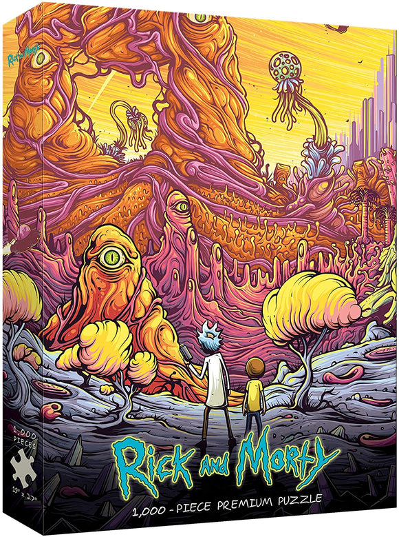 Rick and Morty: Into the Rickverse (1000 pc puzzle)