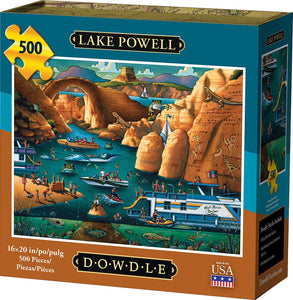 Lake Powell (500 pc puzzle)