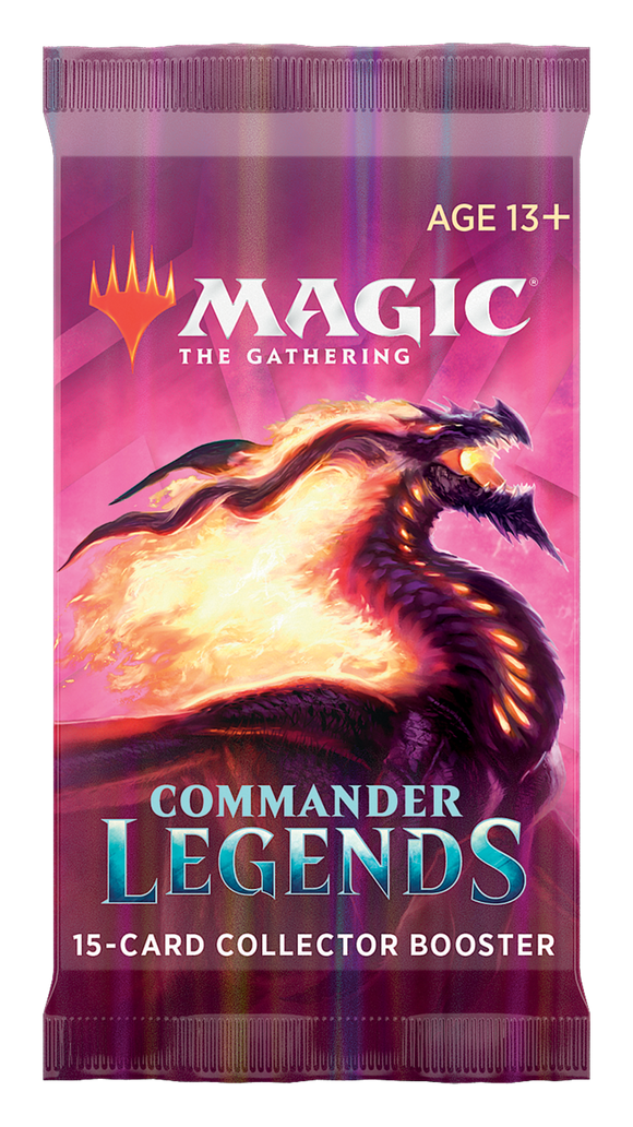 Commander Legends - Collector Booster Pack