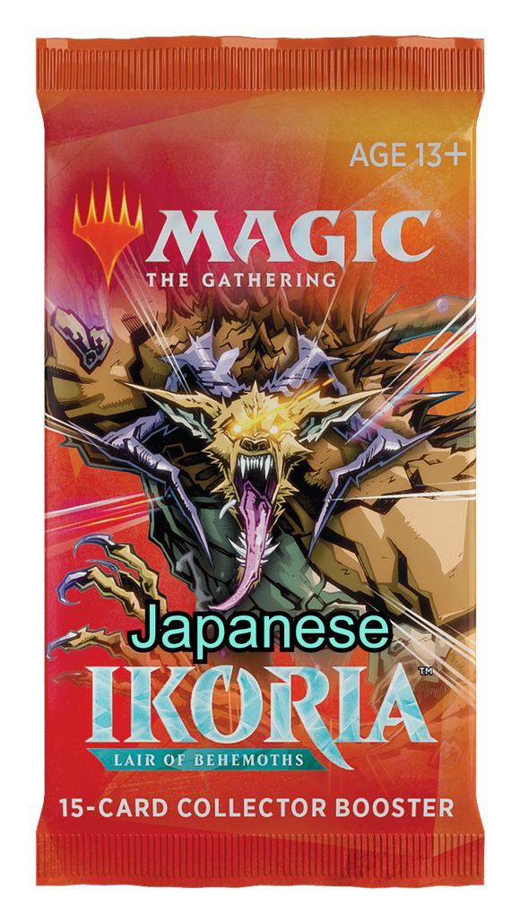 Ikoria: Lair of Behemoths - Japanese Collector Booster Pack