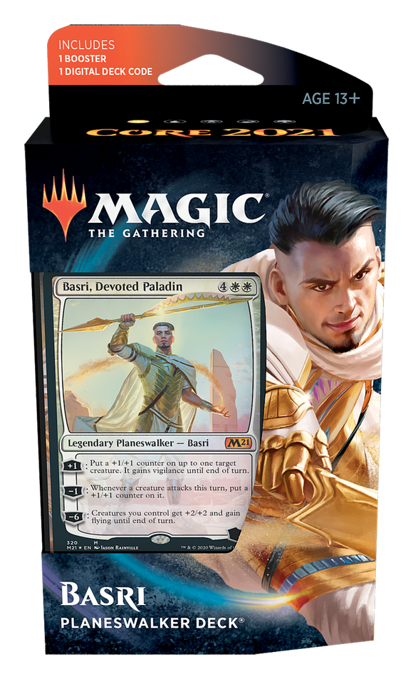 Core Set 2021 - Planeswalker Deck: Basri, Devoted Paladin