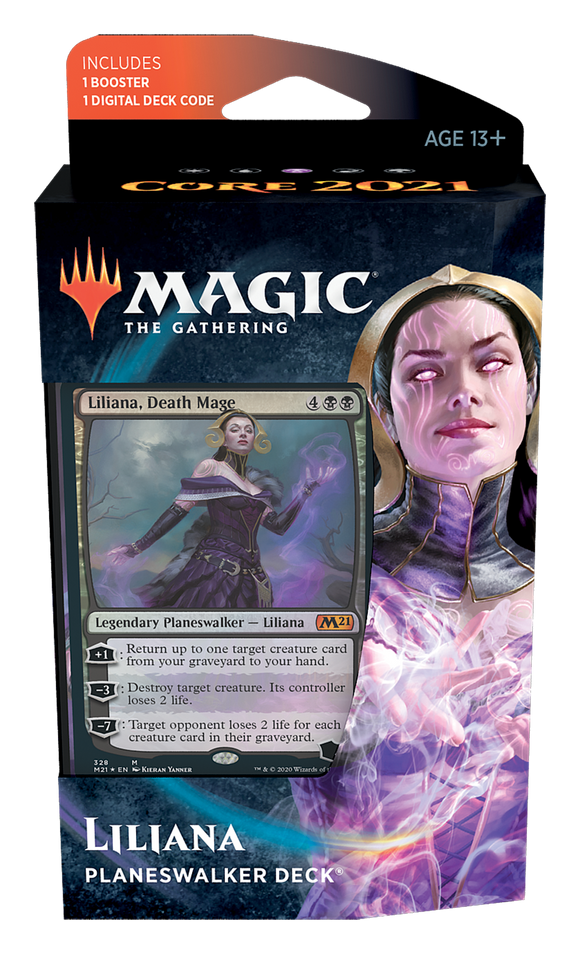 Core Set 2021 - Planeswalker Deck: Liliana, Death Mage