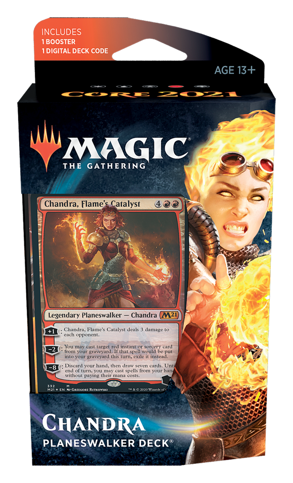 Core Set 2021 - Planeswalker Deck: Chandra, Flame's Catalyst