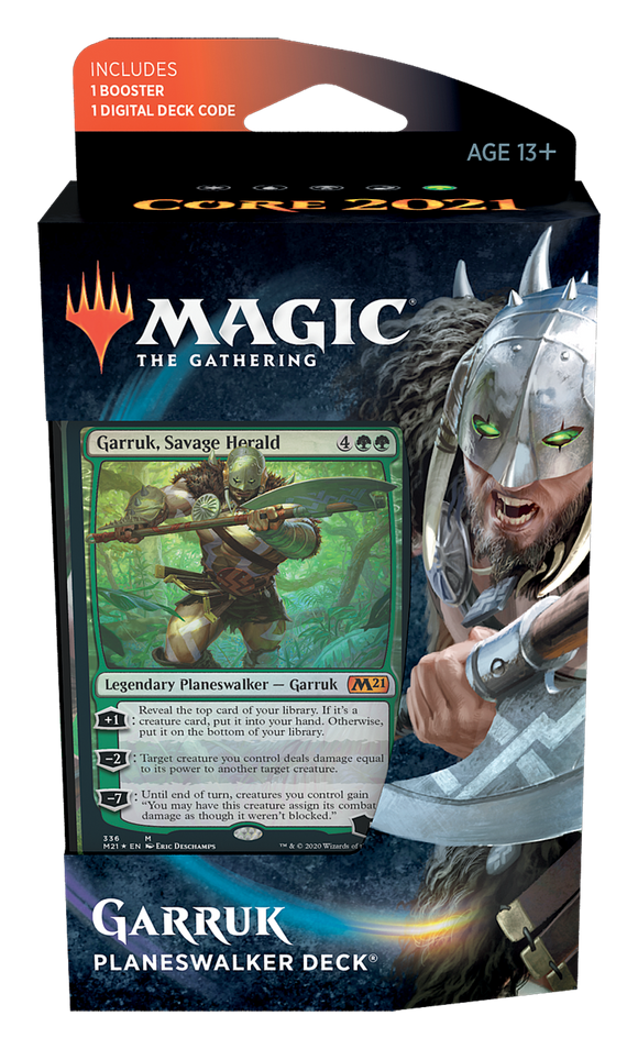 Core Set 2021 - Planeswalker Deck: Garruk, Savage Herald