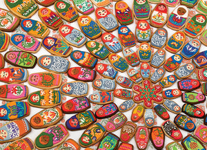 Matryoshka Cookies (1000 pc puzzle)