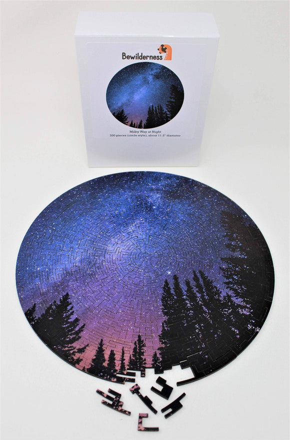 Milky Way at Night (330 pc wooden puzzle)