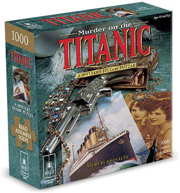 Murder on the Titanic: A Mystery (1000 pc puzzle)