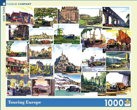 Touring Europe (1000 pc puzzle)