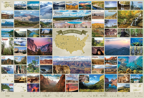 National Parks of the United States (2000 pc puzzle)