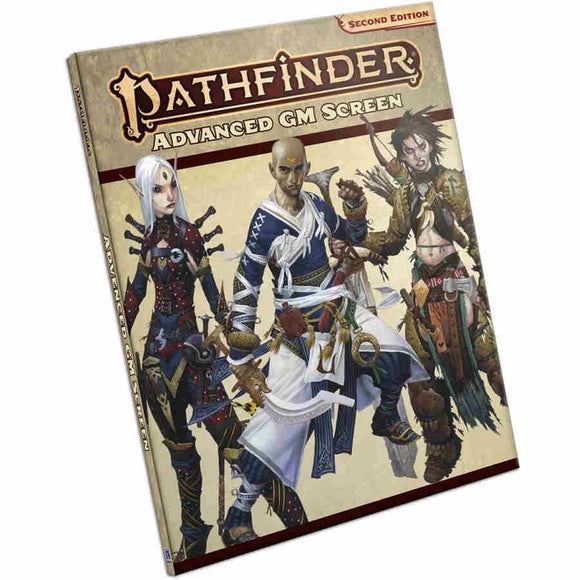 Pathfinder RPG: Advanced Gamemaster Screen