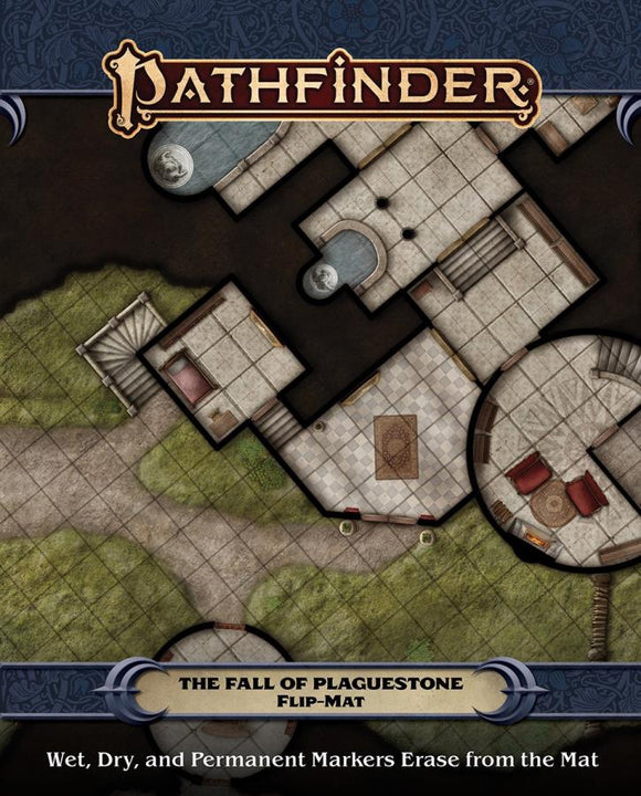 Pathfinder Flip Mat: The Fall of Plaguestone