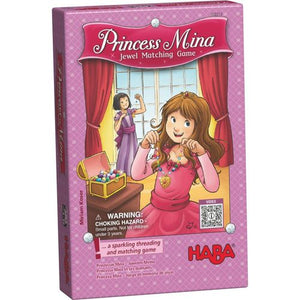 Princess Mina - Jewel Matching Game