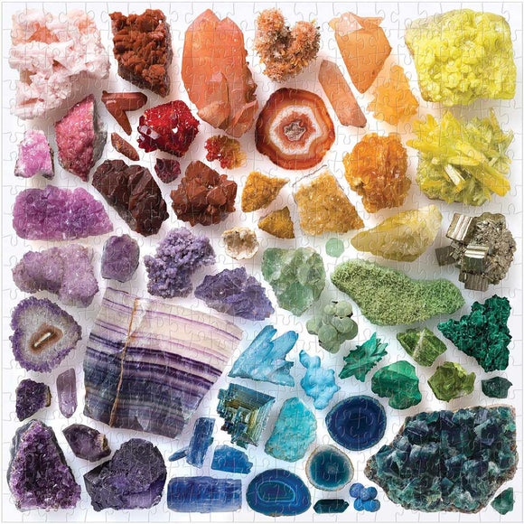 Rainbow Crystals (500 pc puzzle)