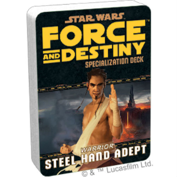 Star Wars RPG: Force and Destiny - Warrior Steel Hand Adept Specialization Deck