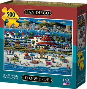 San Diego (500 pc puzzle)