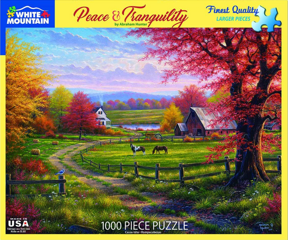 Peace & Tranquility (1000 pc puzzle)