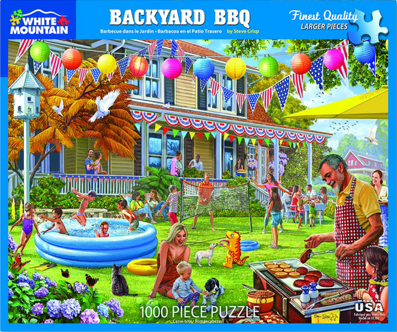 Backyard BBQ (1000 pc  puzzle)