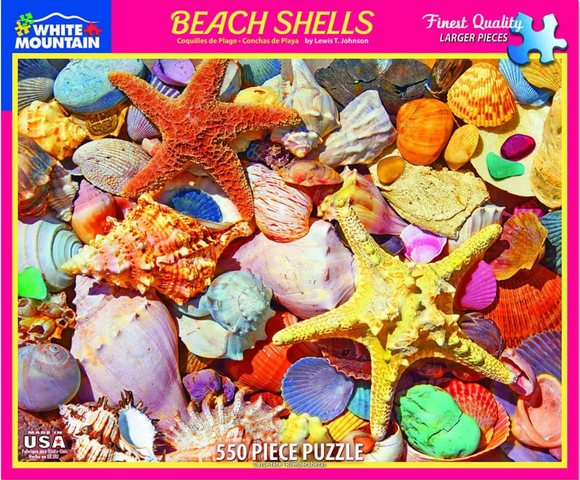 Beach Shells (550 pc puzzle)