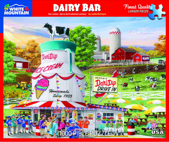 Dairy Bar (1000 pc puzzle)