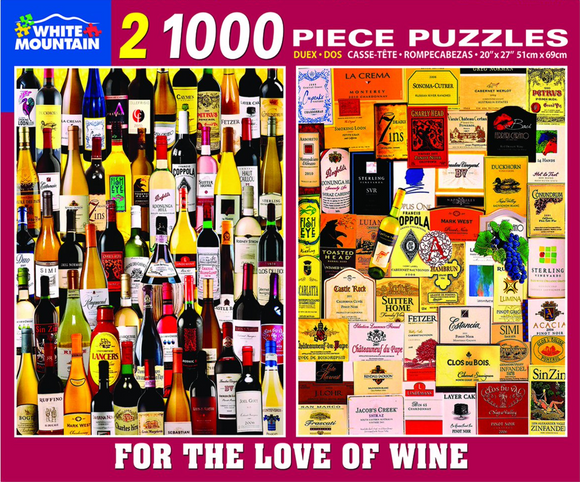 For The Love Of Wine (1000 pc puzzle x2)