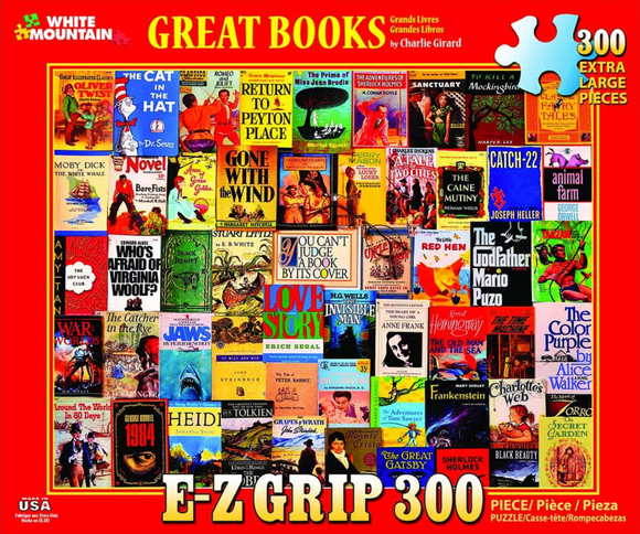 Great Books (300 pc puzzle)