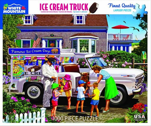 Ice Cream Truck (1000 pc puzzle)