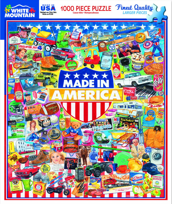 Made in America (1000 pc puzzle)