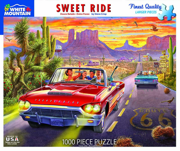 Sweet Ride (1000 pc puzzle)