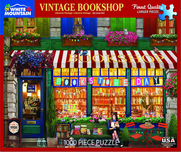 Vintage Bookshop (1000 pc puzzle)