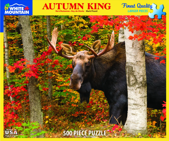 Autumn King (500 pc puzzle)