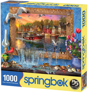 Seaside Harbor (1000 pc puzzle)