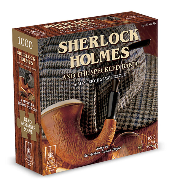 Sherlock Holmes and the Speckled Band: A Mystery (1000 pc puzzle)