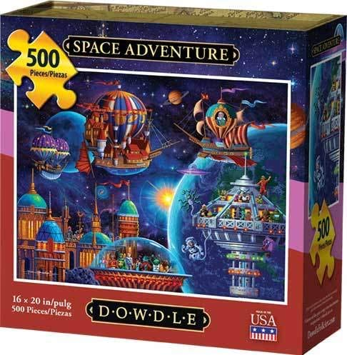 Space Adventure (500 pc puzzle)