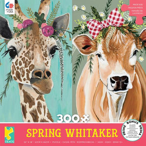 Spring Whitaker: Stella and Daisy (300 pc puzzle)