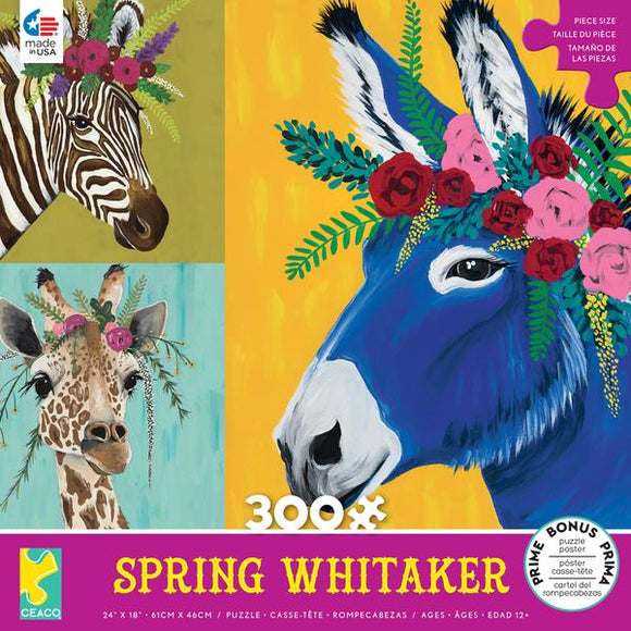 Spring Whitaker - Astor, Daisy and Jose 300 pc Puzzle