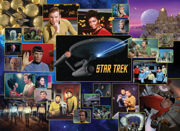 Star Trek: The Original Series (1000 pc puzzle)