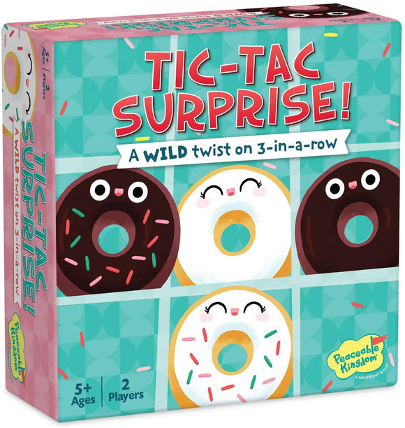 Tic-Tac Surprise: Chocolate and Vanilla