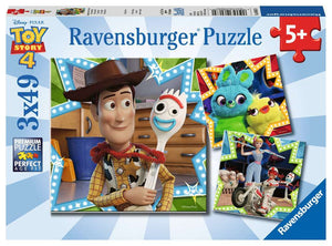 Toy Story 4: In It Together (3 x 49 pc puzzle)