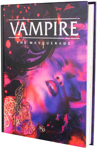 Vampire The Masquerade, 5th Edition Core Rulebook (Hardcover)