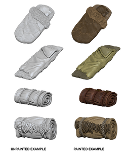 Pathfinder Deep Cuts Unpainted Miniatures: W10 Bedrolls