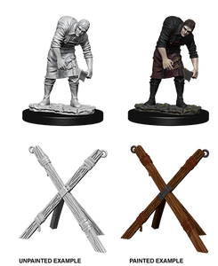 Pathfinder Deep Cuts Unpainted Miniatures: W6 Assistant & Torture Cross