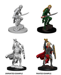 D&D Nolzur's Marvelous Unpainted Miniatures: W6 Elf Female Fighter