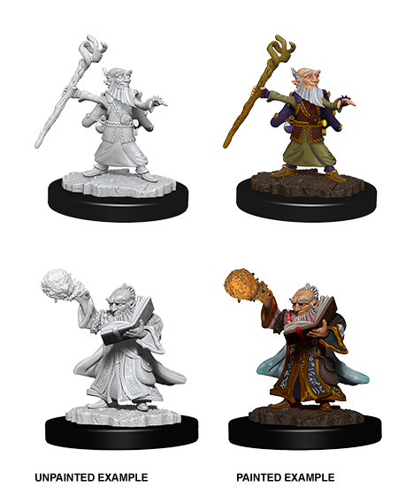 D&D Nolzur's Marvelous Unpainted Miniatures: W6 Gnome Male Wizard