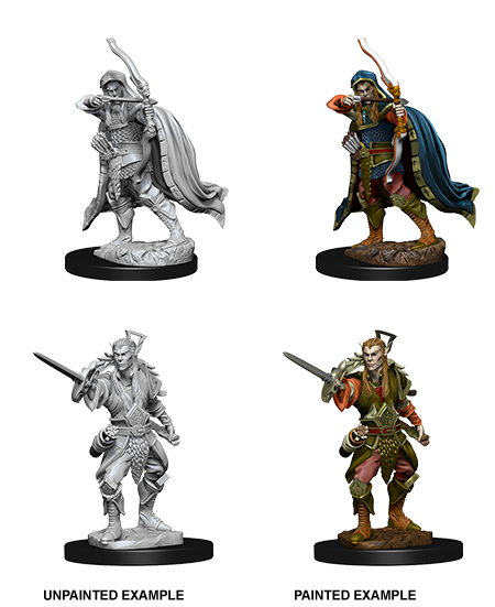 D&D Nolzur's Marvelous Unpainted Miniatures: W7 Elf Male Rogue