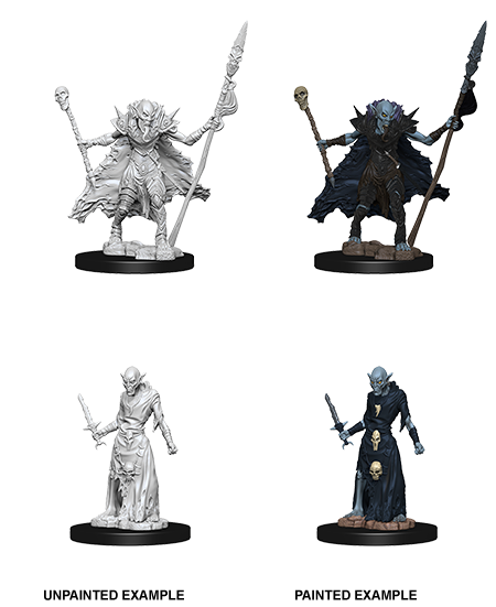 Pathfinder Deep Cuts Unpainted Miniatures: W7 Ghouls