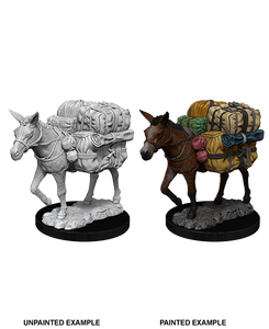 Pathfinder Deep Cuts Unpainted Miniatures: W7 Pack Mule
